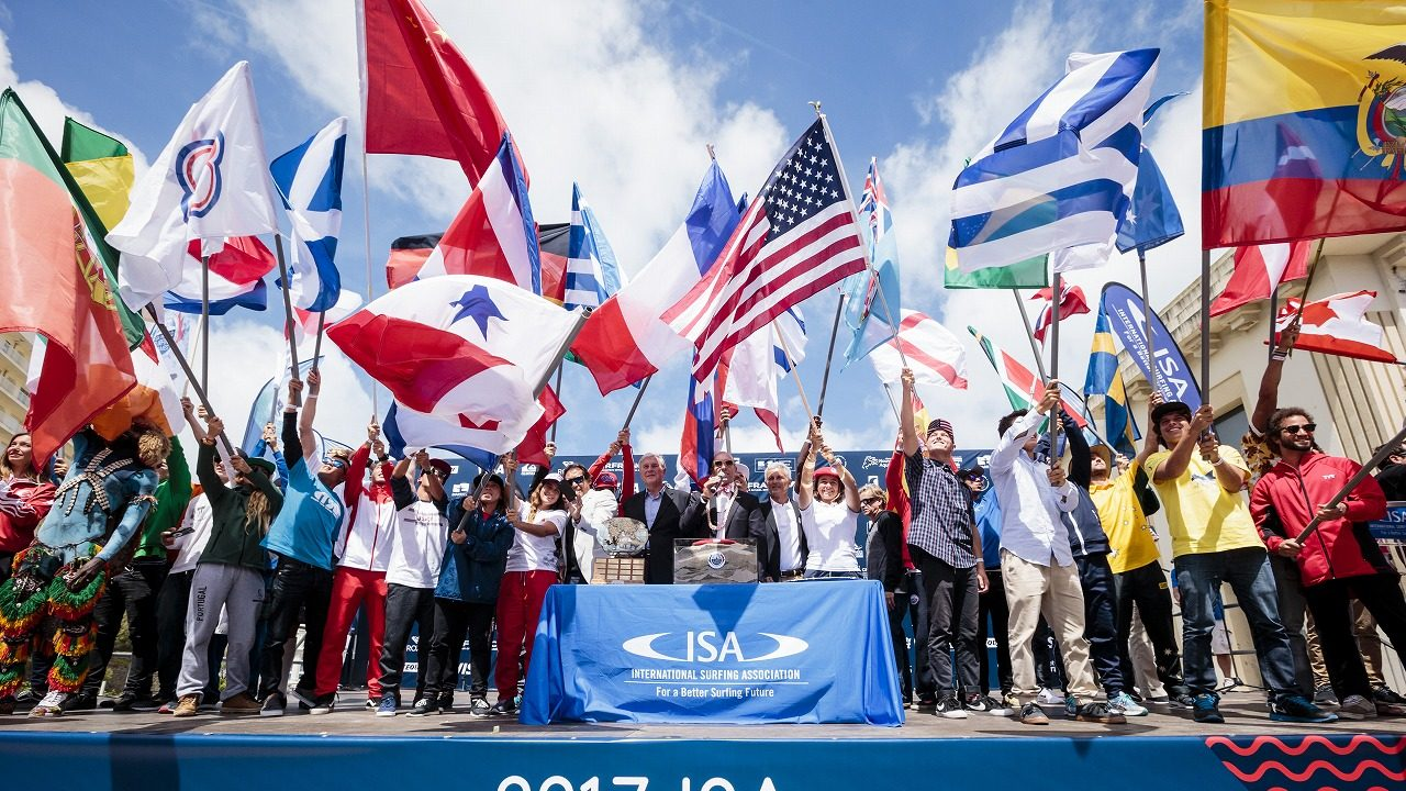 ISA World Surfing Games 2017