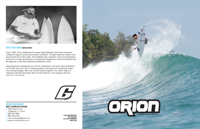 Orion Surfboards Brochure