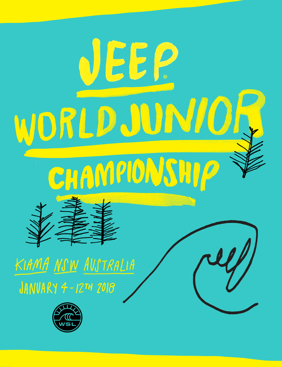 World Surf League's Jeep World Junior Championship